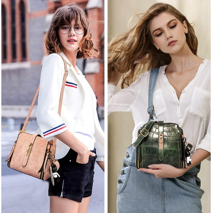 Bucket Bag Ladies Crossbody Sack