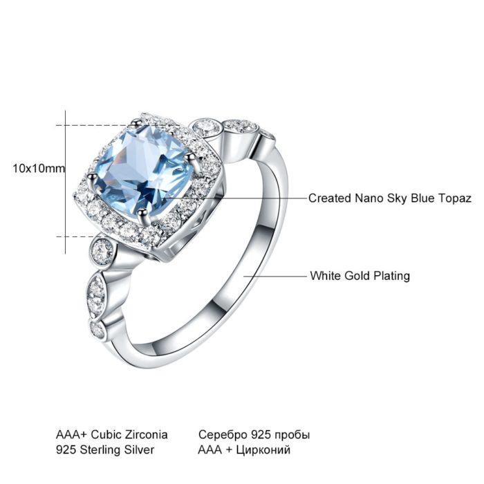 Topaz Ring Gemstone Jewelry