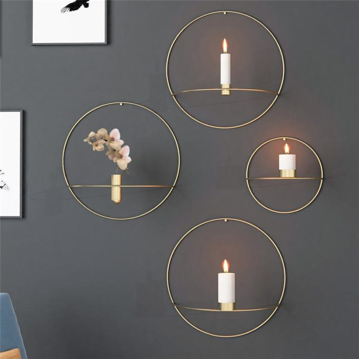 Wall Candle Holders Home Decor