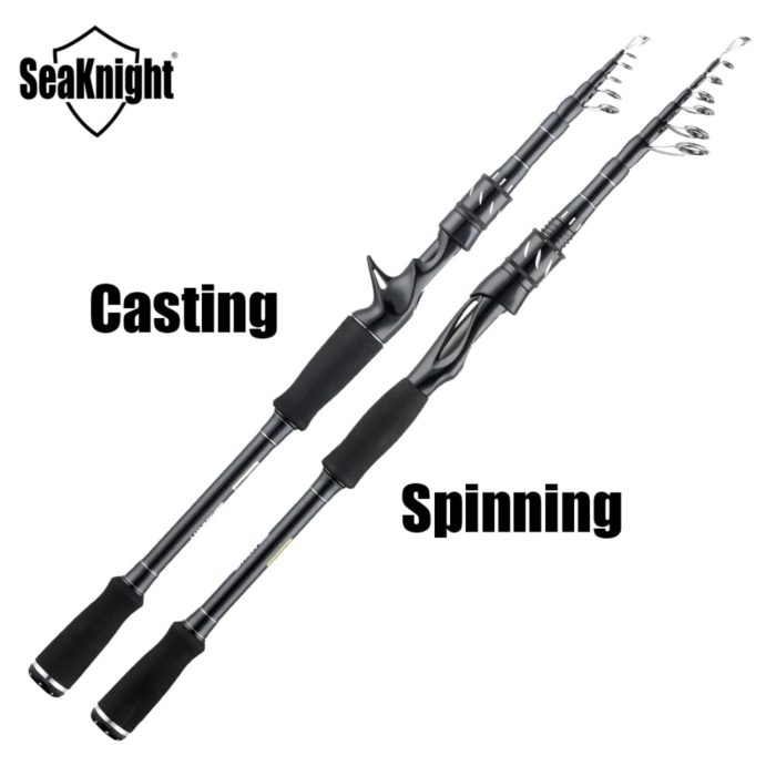 Telescopic Fishing Rod Angling Tackle