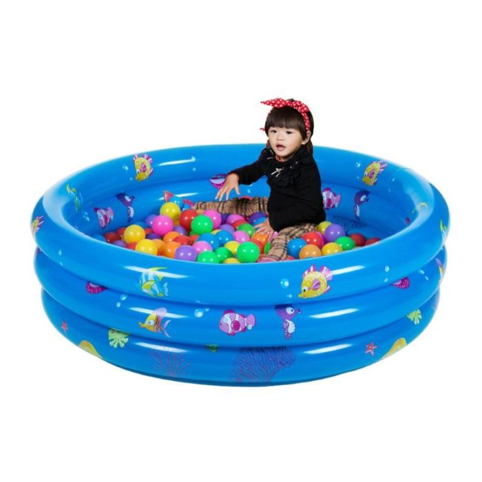 Inflatable Kiddie Pool Anti-Slip Design