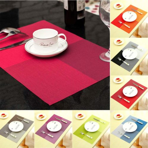 Dining Table Mats Rectangular Shape