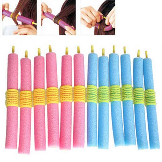 Foam Hair Rollers 12 Pcs Set