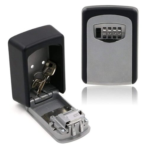 Wall Safe Key Combination Lock Box