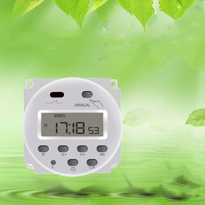 Timer Switch Digital Programmable Device