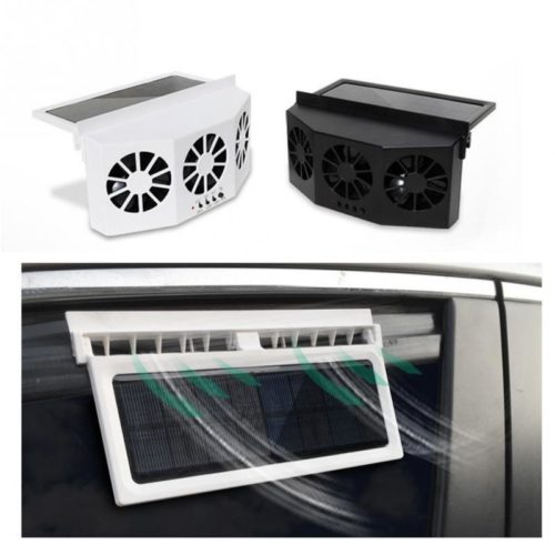 Car Fan Solar Powered Air Cooler