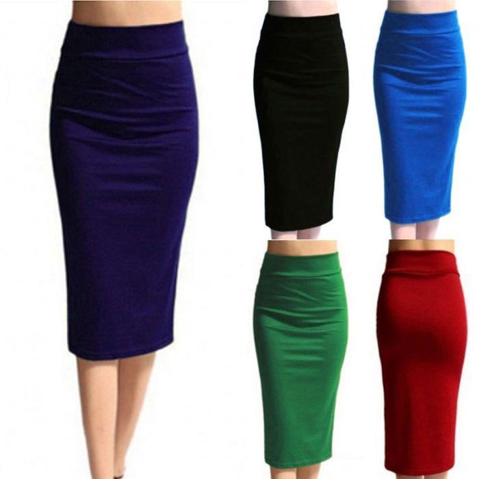 Bodycon Skirt Knee Length