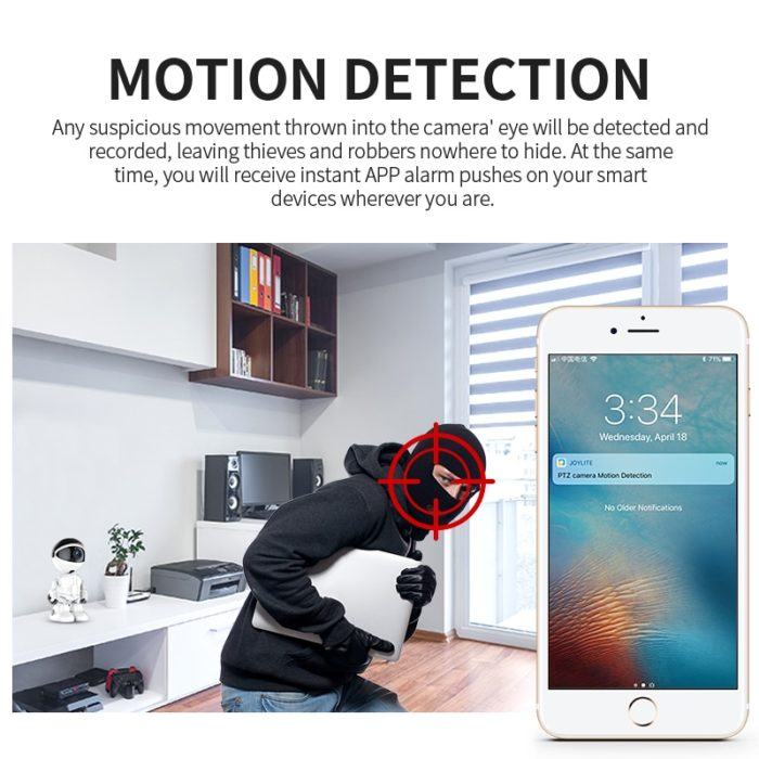 Wireless CCTV Camera Robot Device