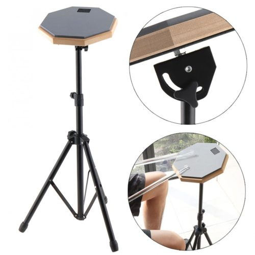 Drum Practice Pad with Stand