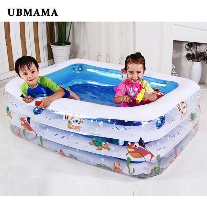 Inflatable Pool Portable Paddling Bath