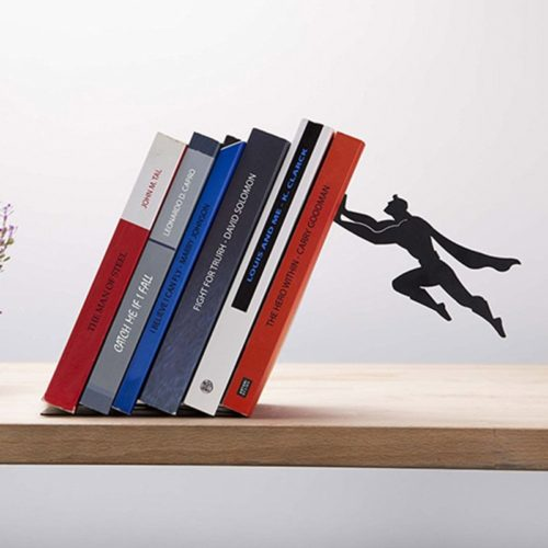Bookshelf Decor Superman Stopper