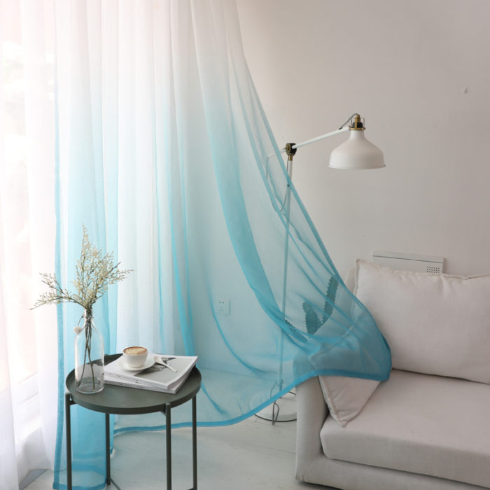 Window Treatments Tulle Curtains