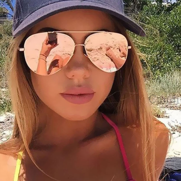 Aviator Sunglasses Mirror Sunglass