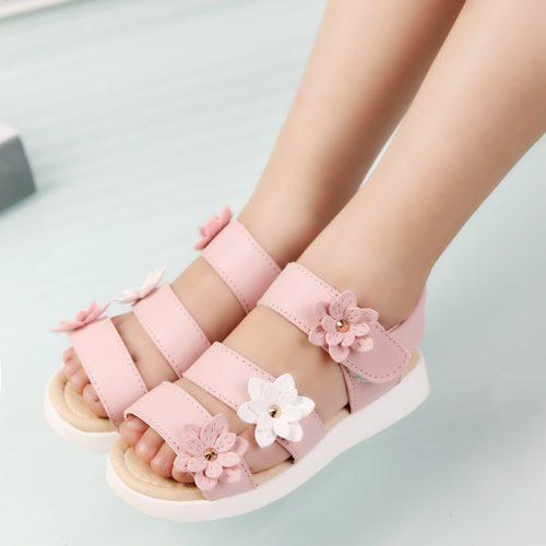 Flat Sandals Girl's Footwear