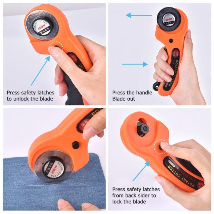 Fabric Cutter Rotary Cutting Tool