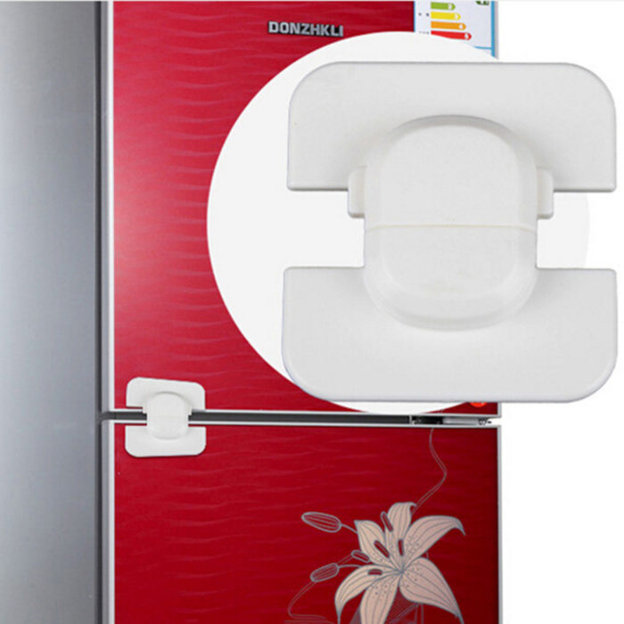 Fridge Lock Self-Adhesive Safety Latch