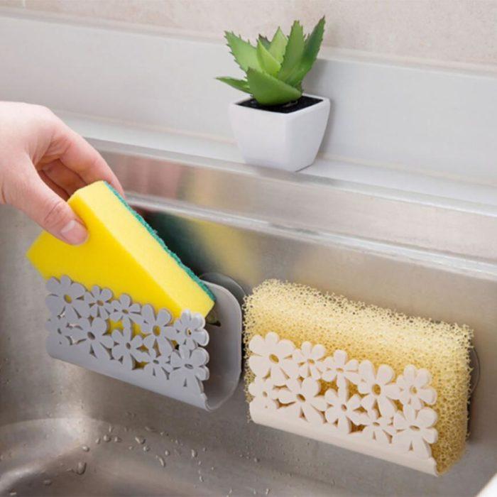 Sponge Holder Suction Drying Rack