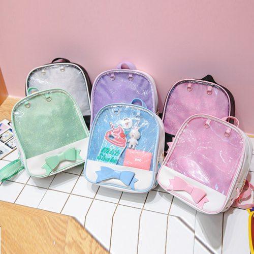 Clear Backpack Transparent Bag