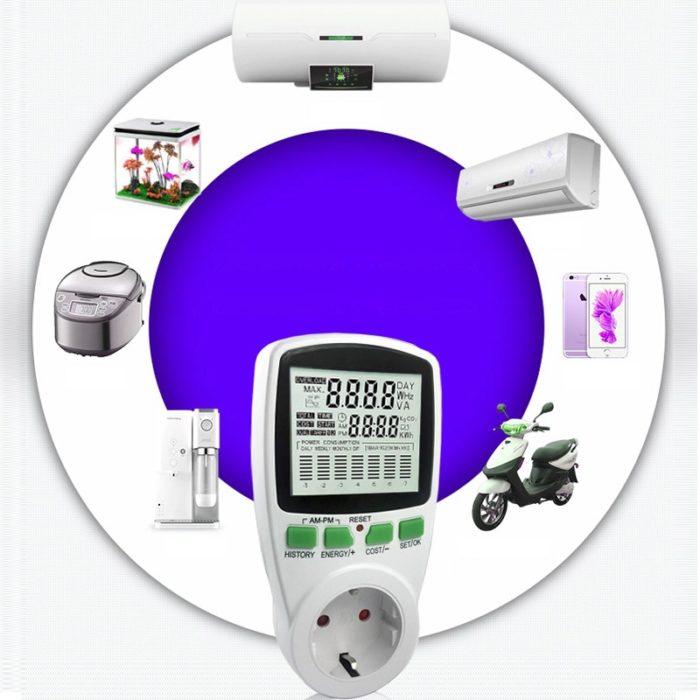 Wattmeter Digital Power Meter