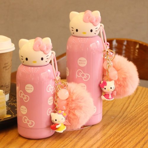 Mini Water Bottles Hello Kitty Drinkware