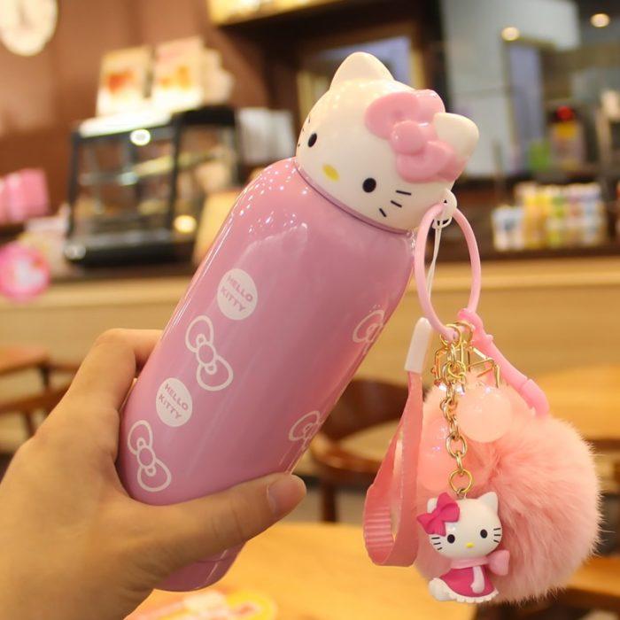 Mini Water Bottles Hello Kitty Drinkware