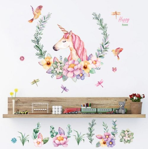 Unicorn Wall Stickers Home Decor