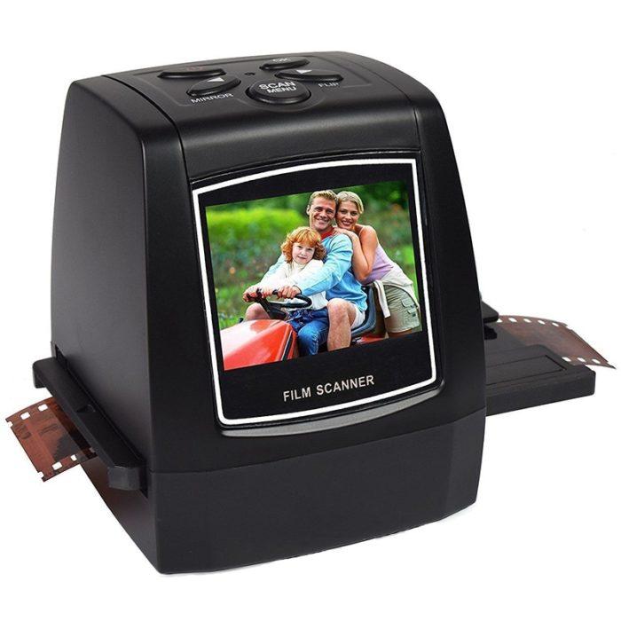 Portable Scanner for Negative Films
