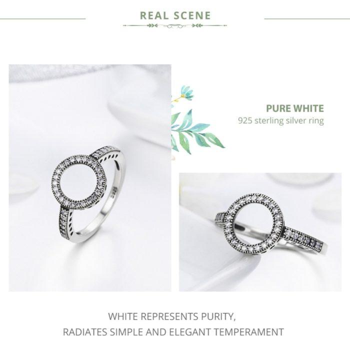 Eternity Ring Round Finger Jewelry