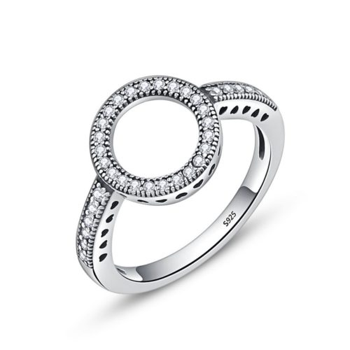 Eternity Ring Round Finger Jewelry