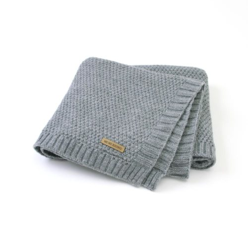 Knitted Baby Blanket Multi-Purpose