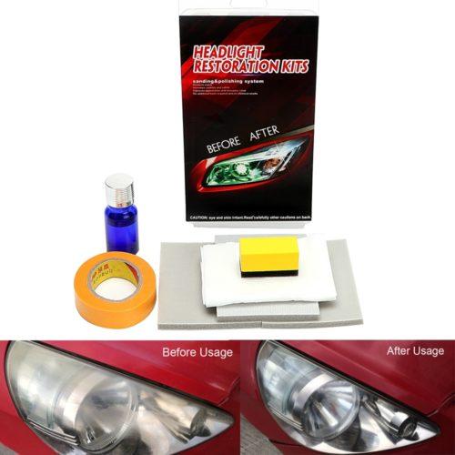 Headlight Restoration Kit 8PC Set