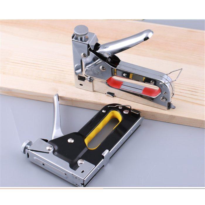 Staple Gun 3-in-1 Manual Stapler Tool