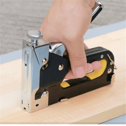 Staple Gun 3-in-1 Manual Stapler Tool