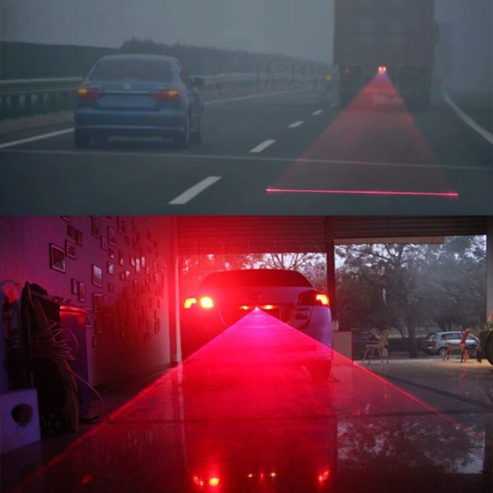 Fog Lights Car Laser Warning Signal