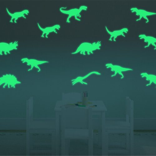 Dinosaur Wall Stickers Glow in the Dark