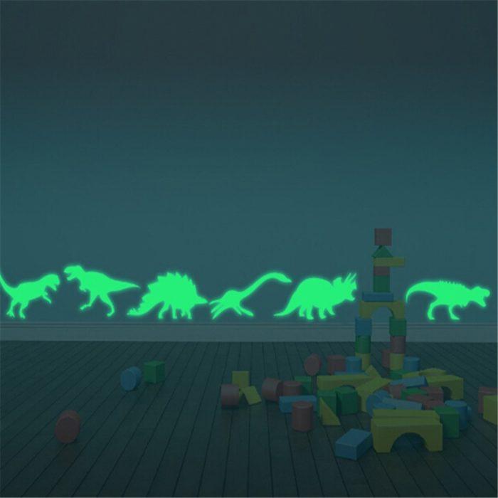 Dinosaur Wall Stickers Glow in the Dark