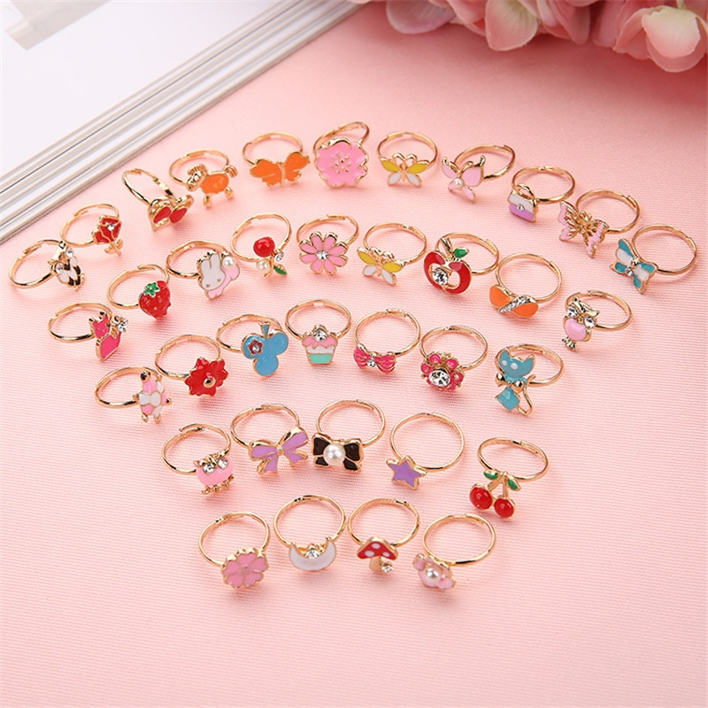 Kids Rings Fancy Cartoon 1Pc Ring - Life Changing Products