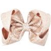 Hair Ribbon 8 Inch Sequin Bow Clip