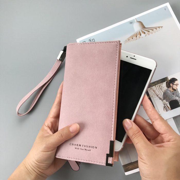 Wristlet Wallet Ladies Fashion Purse