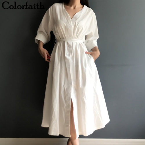 Linen Dress Women's Casual Wear