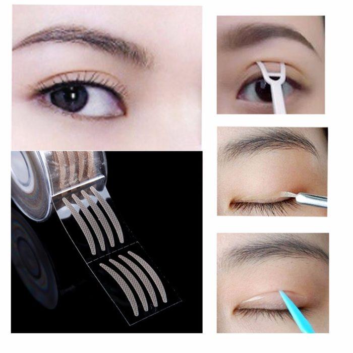 Eyelid Tape Self-Adhesive 600PC Set