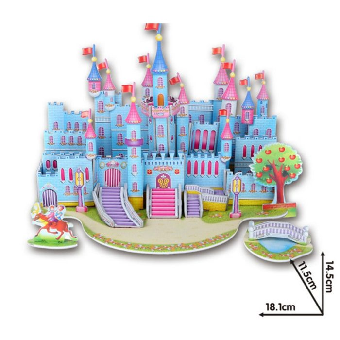 3D Jigsaw Puzzles Kids Construction