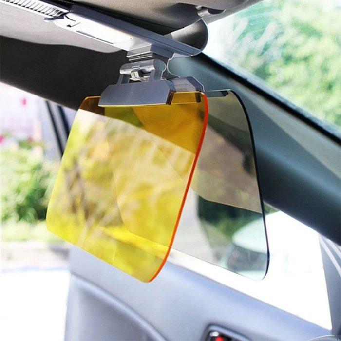 Car Sun Visor Anti-Glare Clip-On Shade
