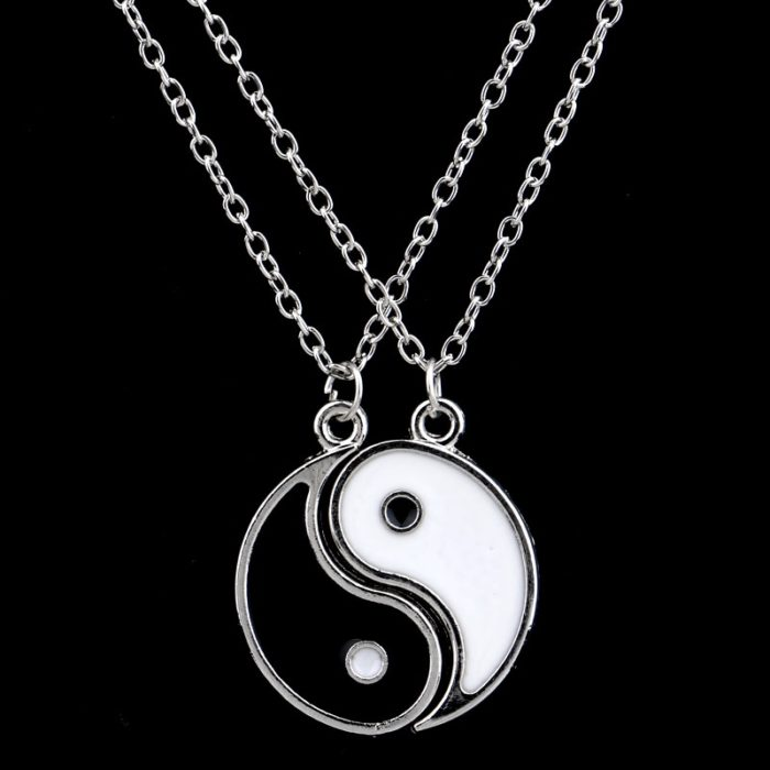 Yin Yang Necklace Couple Accessory