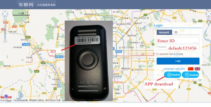 Car Tracking Device GPS Tracker