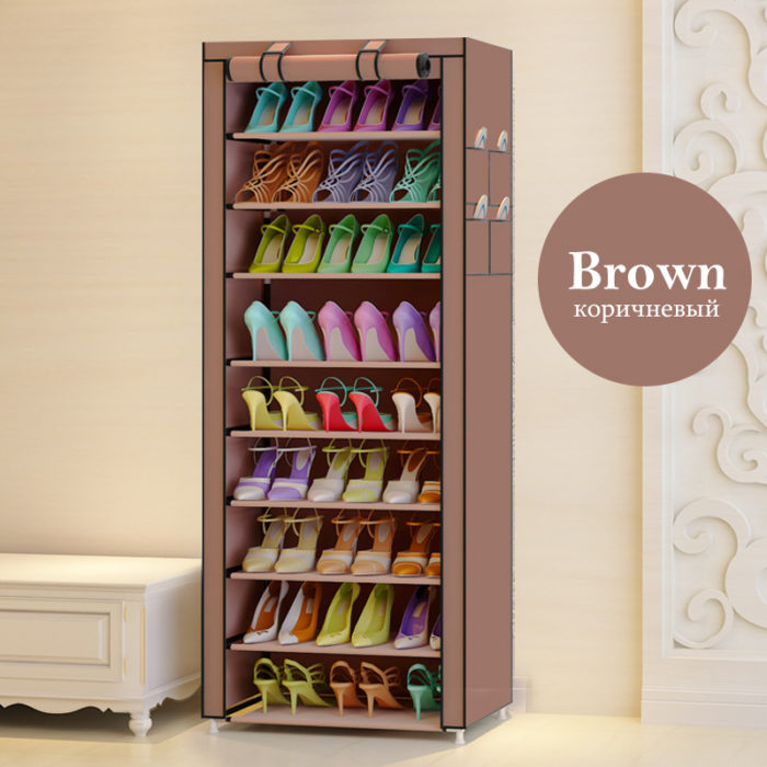Shoe Rack With Cover Shoe Organizer
