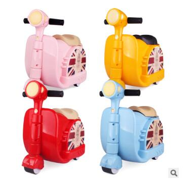 Kids Travel Bags Ride-On Suitcase