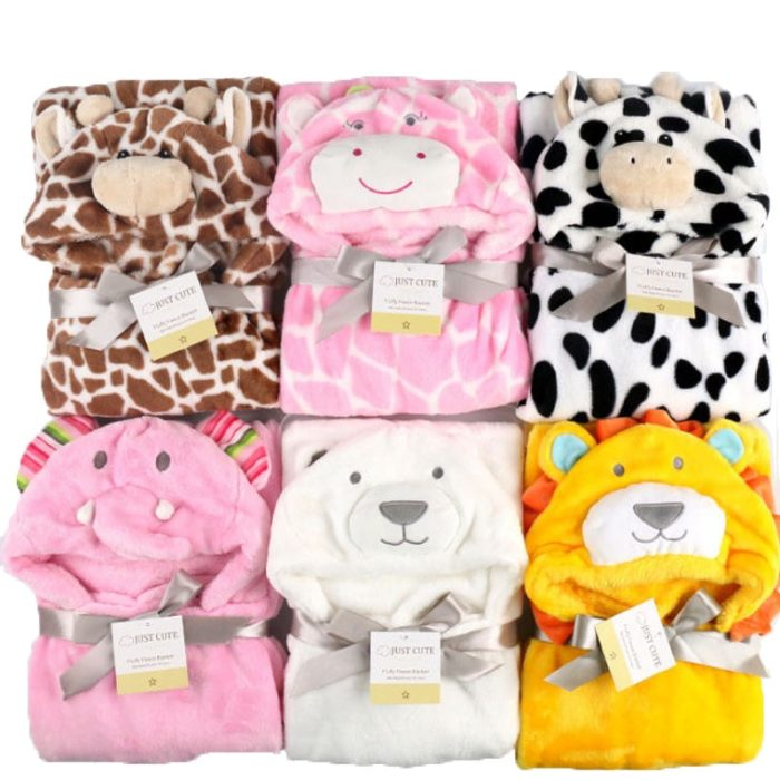 Baby Hooded Towel Bath Cloth