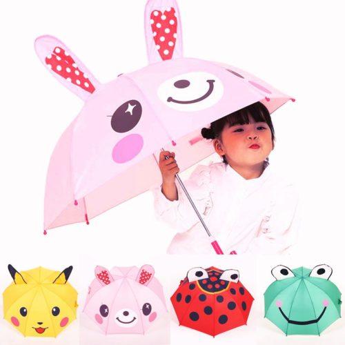 Kids Umbrella Cute Animal Design