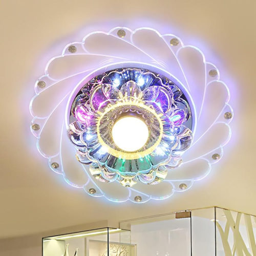 Ceiling Lamp LED Crystal Light